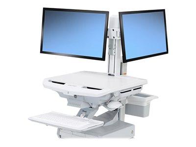 Ergotron SV Dual Monitor Kit - Nastavitelné rameno pro 2 LCD displeje - velikost obrazovky: 24