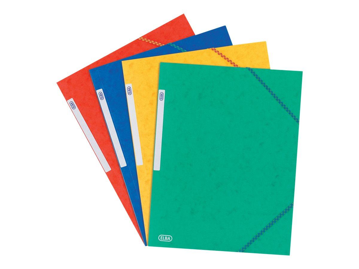 ELBA TOPFILE - Chemise à 3 rabats - A5 - disponible dans différentes couleurs