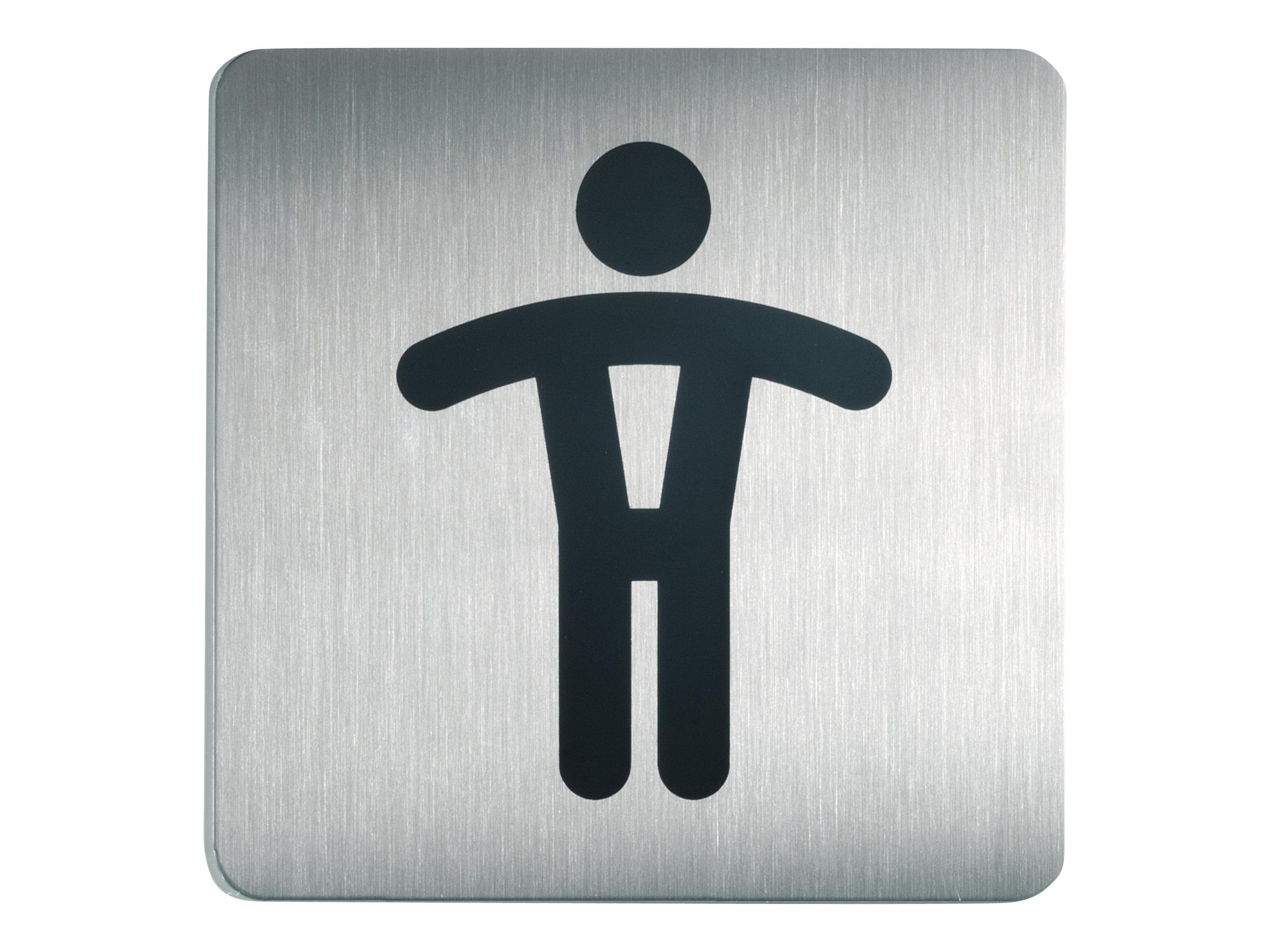 DURABLE PICTO - Pictogramme - toilettes pour hommes - 150 x 150 mm