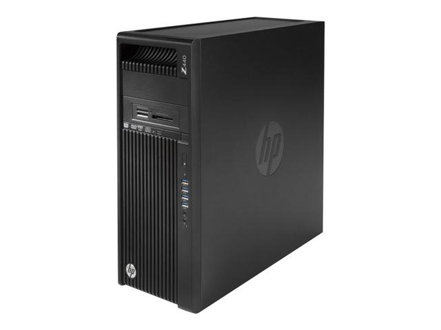 HP Workstation Z440 - Xeon E5-1650V3 3.5 GHz - 16 GB - 256 GB G1X59EA#ABN