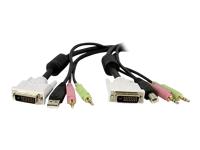 StarTech.com C�ble Adaptateur  DVID4N1USB6