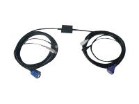 Gelcom câble clavier / vidéo / souris (KVM) - 10 m