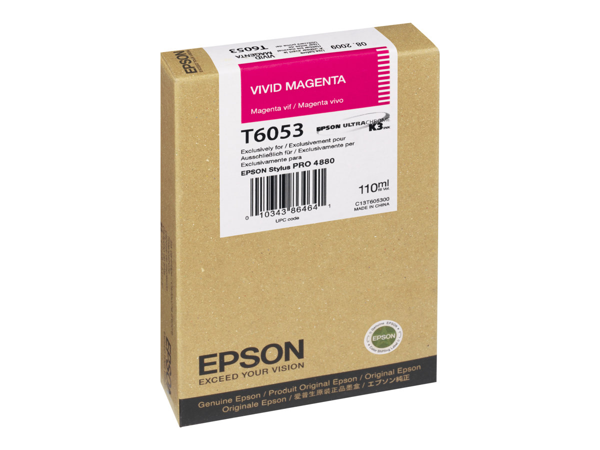 Epson T6053 - Magenta vif - originale - cartouche d'encre