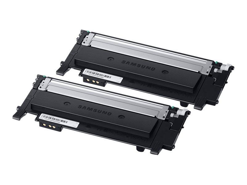 Samsung CLT-P404B - pack de 2 - noir - originale - cartouche de toner