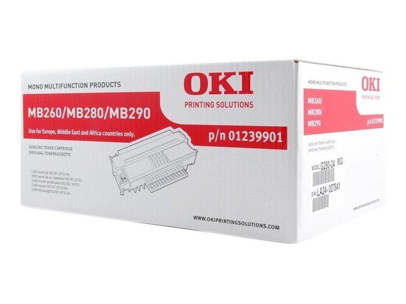 OKI - Noir - original - cartouche de toner - 1239901