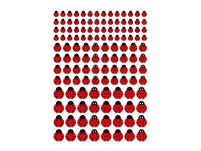Oberthur - 259 Gomettes - coccinelles