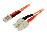 STARTECH - CABLE StarTech.com Multimode 50/125 Duplex Fiber Patch Cable LC50FIBLCSC3