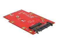 DeLOCK 1.8 Converter Micro SATA 16 Pin > M.2 NGFF Lagringskontrol M.2
