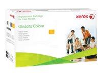 Xerox - jaune - cartouche de toner (équivalent à : OKI 43487709 )
