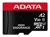 ADATA High Endurance - Tarjeta de memoria flash (adaptador microSDXC a SD Incluido) - 128 GB