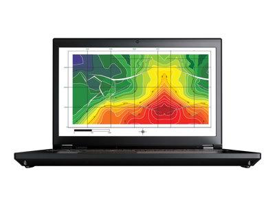 "Lenovo ThinkPad P71 20HK - Core i7 7820HQ / 2.9 GHz - Win 10 Pro 64-bit - 8 GB RAM - 512 GB SSD TCG Opal Encryption 2, NVMe - 17.3"" IPS 1920 x 1080 (Full HD) - Quadro M620M / HD Graphics 630 - Wi-Fi, Bluetooth - WWAN upgradable - black"