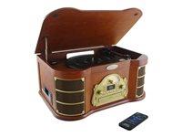 PyleHome Vintage Classic Style PTCD54UB - Audio system - maple
