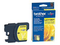 Brother Cartouche jet d'encre d'origine LC1100Y
