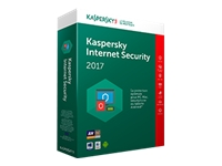 Kaspersky Internet Security 2017 - ensemble de boîtes (1 an)
