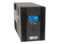 Tripp Lite UPS Smart LCD 120V 50/60Hz 1500VA 900W Line-Interactive AVR, Tower, Battery Back-Up LCD, USB, 10 Outlets - UPS - CA 120 V