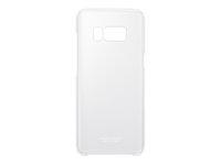 Samsung Clear Cover EF-QG950 Bagomslag til mobiltelefon sølv