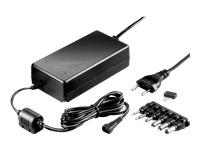 goobay Strømforsyningsadapter AC 100-240 V 60 Watt sort