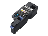 Dell - Cyan - original - toner cartridge - for Dell E525w; Color Multifunction Printer E525w