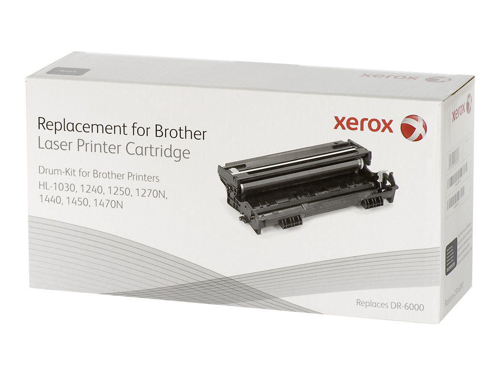 Xerox - noir - kit tambour (alternative pour : Brother DR6000)