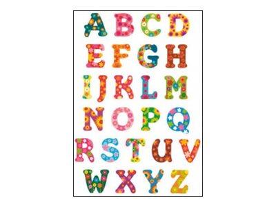 Oberthur Fantaisie Alphabet 2 - adhésif décoratif
