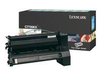 LEXMARK, Toner/black 15000sh f Optra C772 X772e