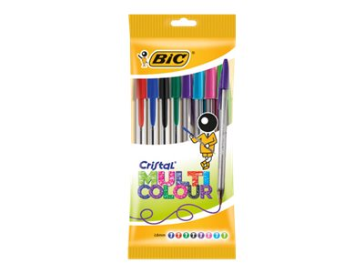 BIC Cristal Multicolor - stylo à bille