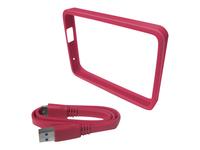 WD Grip Pack WDBFMT0000NPM Beskytter til ekstern harddisk fuscia