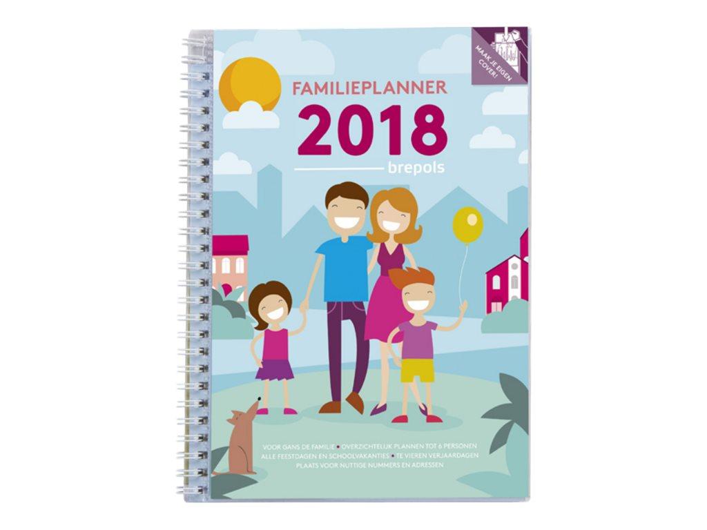 Brepols - agenda de famille (pack de 20)