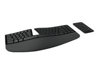 Microsoft Sculpt Ergonomic Keyboard For Business - ensemble clavier et pavé numérique - français