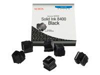 XEROX - GENUINE SUPPLIES Tintas sólidas - 6 x negro - 6800 páginas - Para Phaser 8400108R00608
