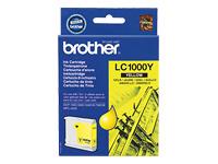 Brother Cartouche jet d'encre d'origine LC1000YBP
