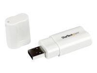 StarTech.com USB to Stereo Audio Adapter Converter