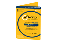 Norton Security Deluxe (v. 3.0) abonnementskort (1 år)