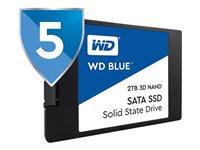 WD Blue 3D NAND SATA SSD WDS100T2B0A - Solid state drive - 1 TB