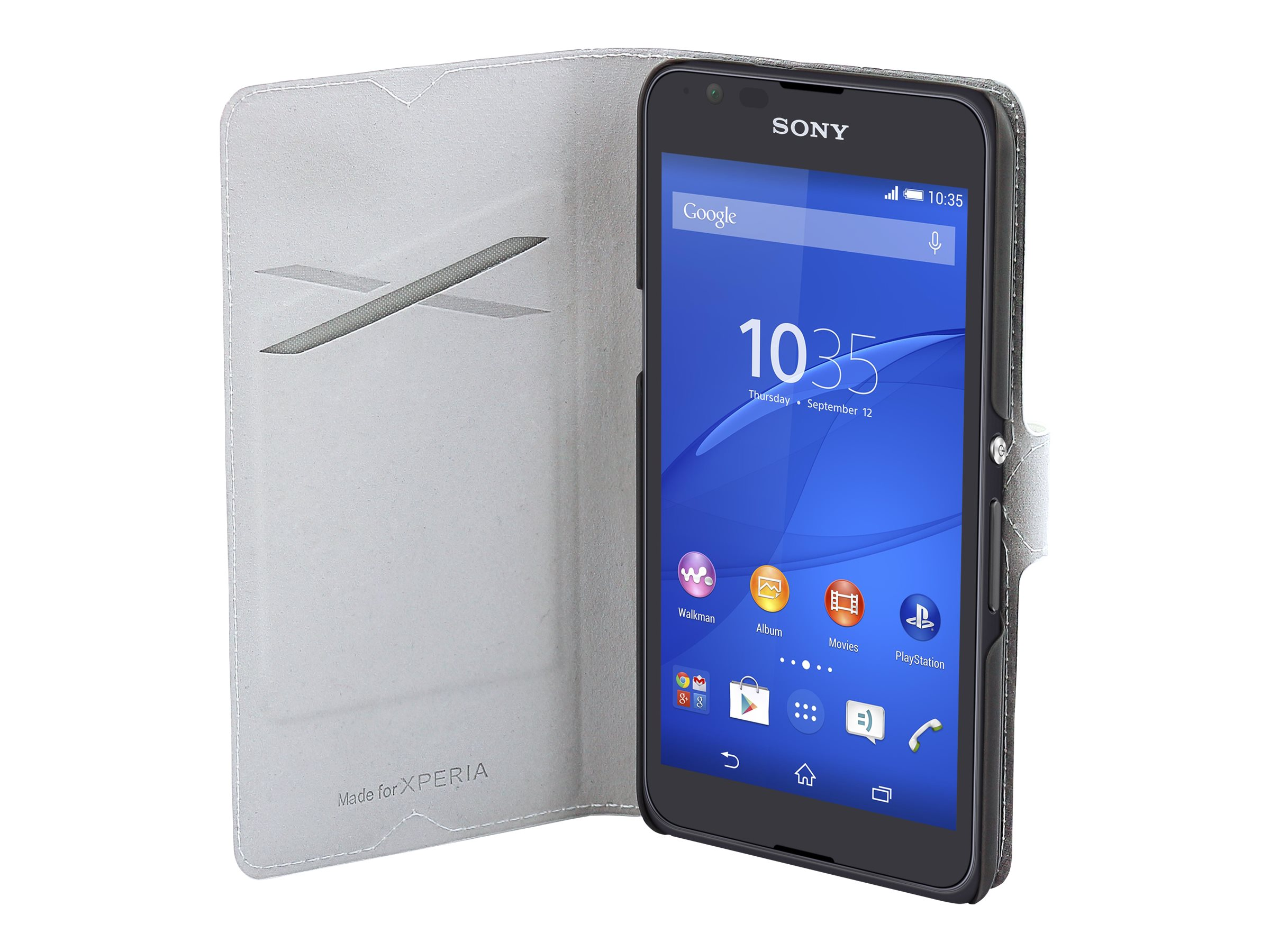 Muvit MFX slim folio protection à rabat pour téléphone portable