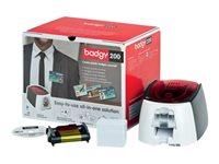 Badgy 200 - imprimante cartes plastiques - couleur - sublimation thermique/transfert thermique