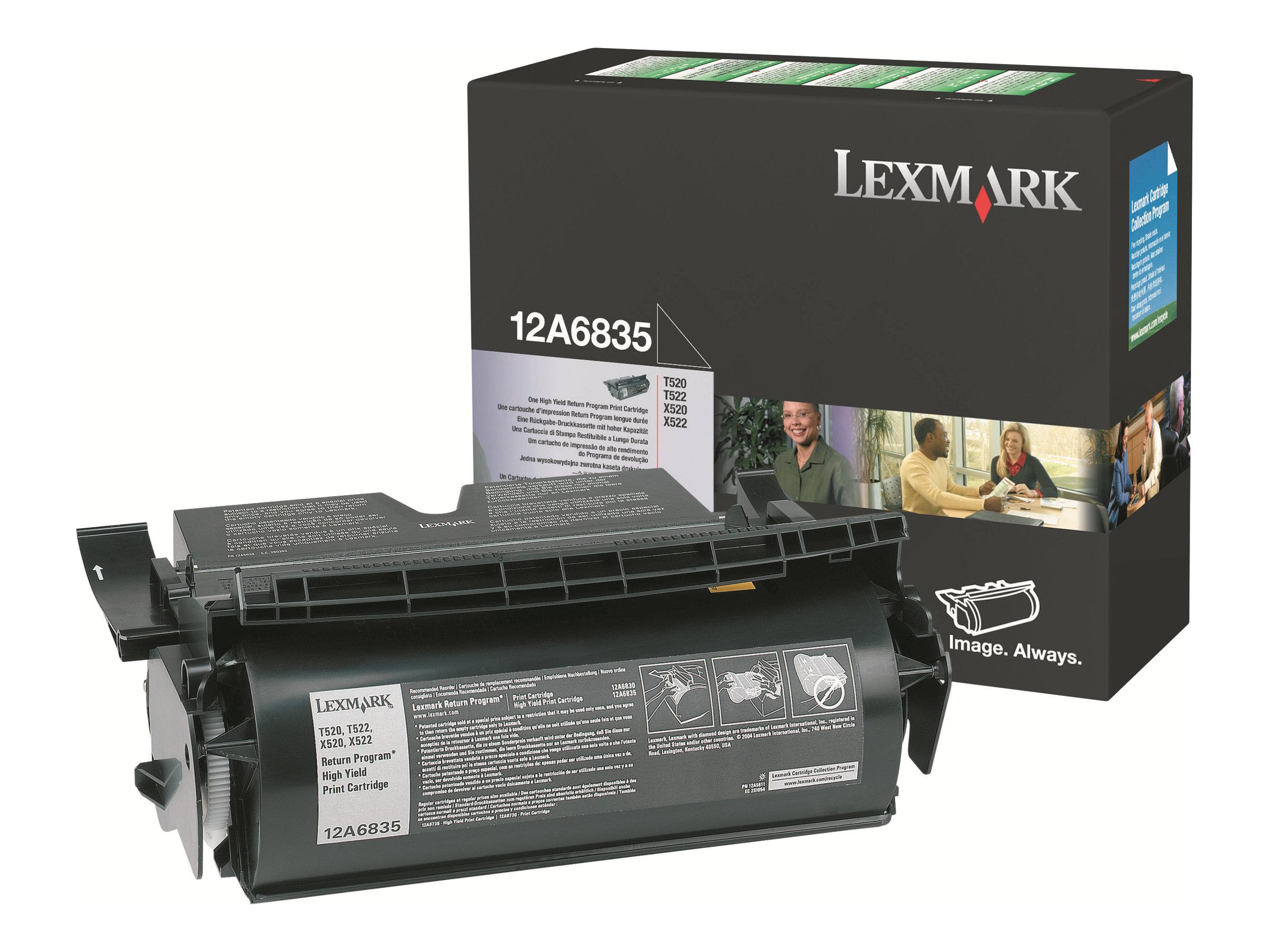 Lexmark - noir - originale - cartouche de toner - Prebate