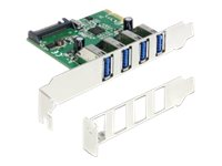 Delock PCI Express Card > 4 x USB 3.0, Delock PCI Express Card >