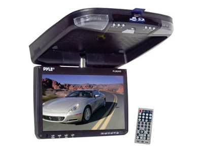 PYLE PLRD92 - DVD player with LCD monitor and digital player - display - 9 in