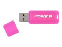 Integral Europe Clés USB INFD16GBNEONPK