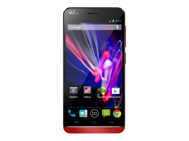 Wiko Wax - Corail - 4G HSPA+, LTE - 4 Go - GSM - smartphone Android