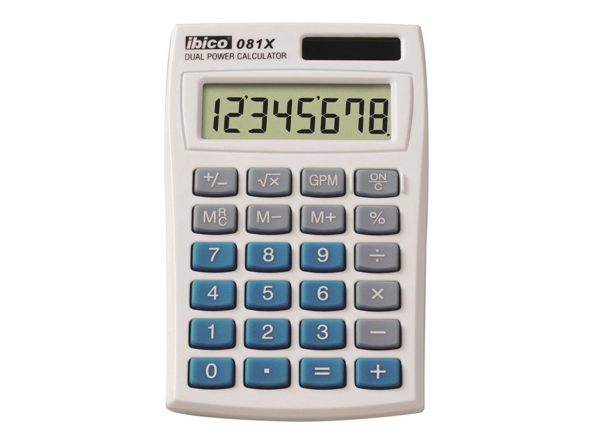 Rexel Ibico 081X - calculatrice de poche