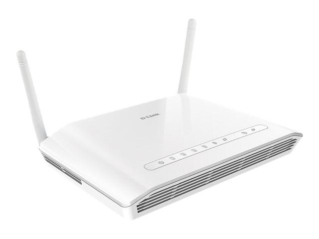 D-Link Wireless N300 DSL-2745 - trådløs ruter - DSL-modem - 802.11b/g/n - stasjonær DSL-2745/E