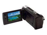 02.Camescope HDD et Hybride Vue de droite Utilisation