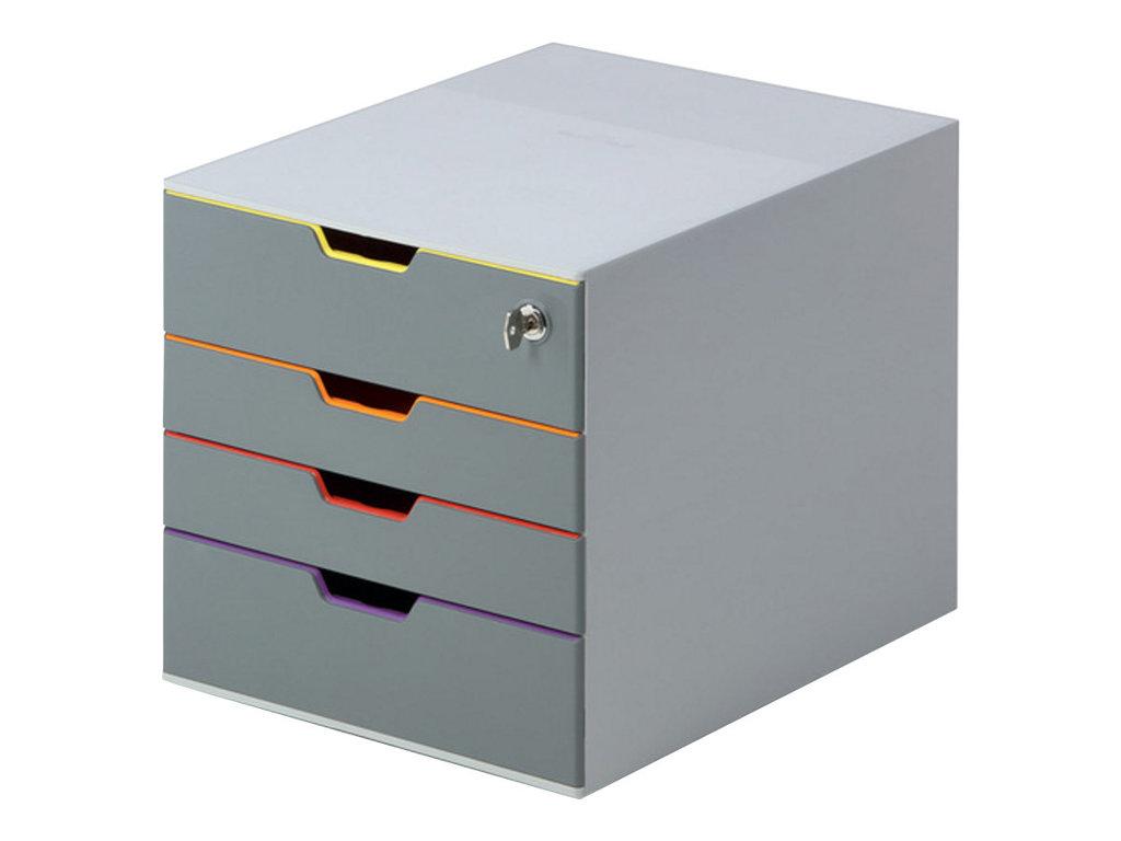 DURABLE VARICOLOR SAFE - bloc de classement à tiroirs