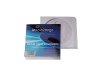 MediaRange Retailpack 50 CD Paperbag with Flagwindow CD/DVD lomme