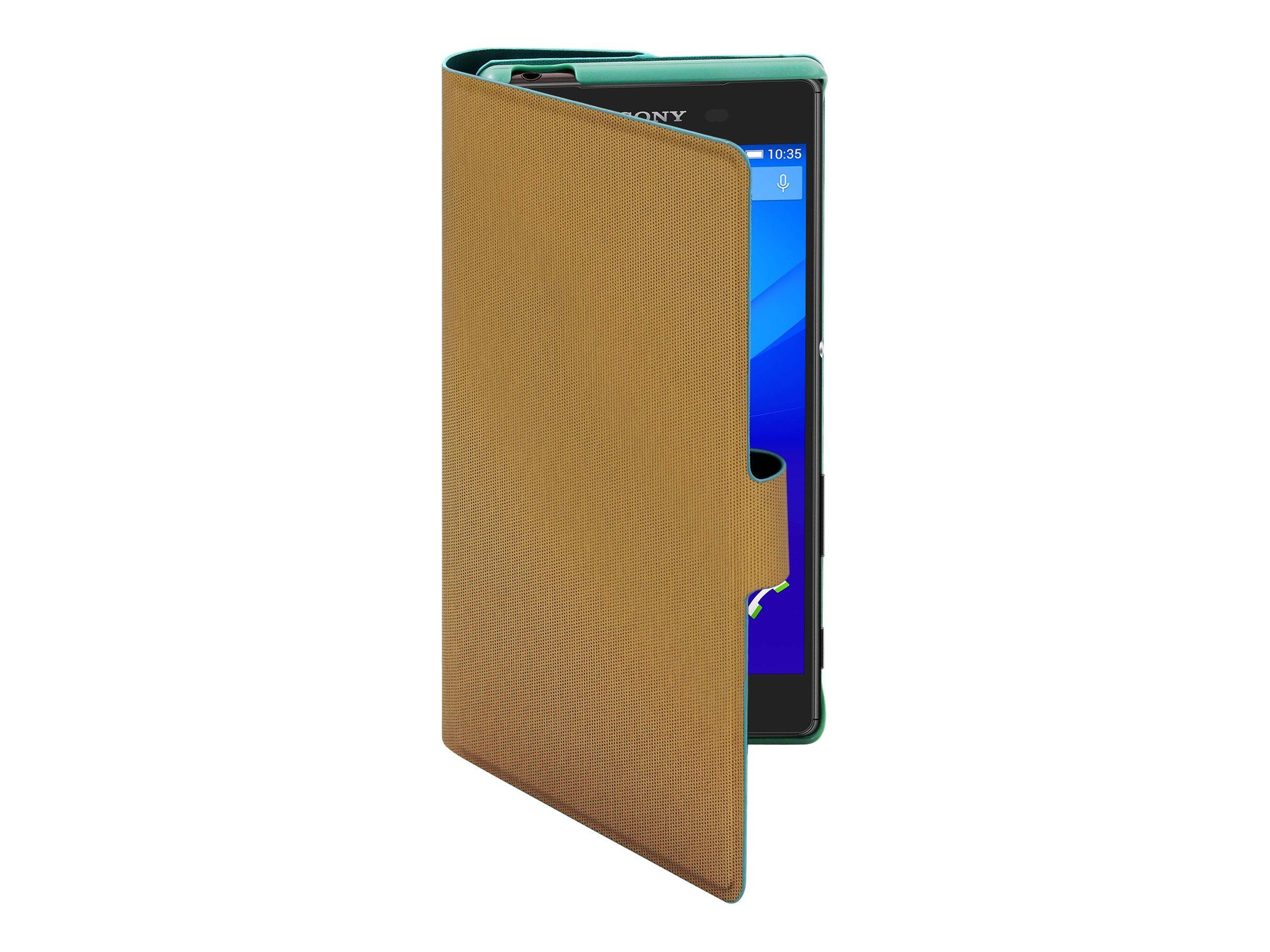 Muvit MFX Caméléon Folio - 2 Protections à rabat pour Sony XPERIA Z5 - vert, doré
