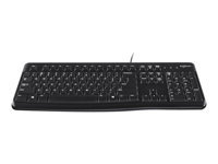 Logitech K120 Tastatur USB Pan nordisk