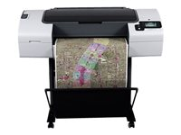 "HP DesignJet T790ps ePrinter - 24"" large-format printer - color - ink-jet - Roll ARCH D (24 in x 299 ft) - 2400 x 1200 dpi - up to 1.2 ppm (mono) / up to 1.2 ppm (color) - USB, LAN - GSA Trade Compliant"