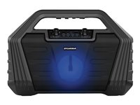 Sylvania Light Up Bluetooth Speaker - Black - SP571 - Open Box or Display Models Only